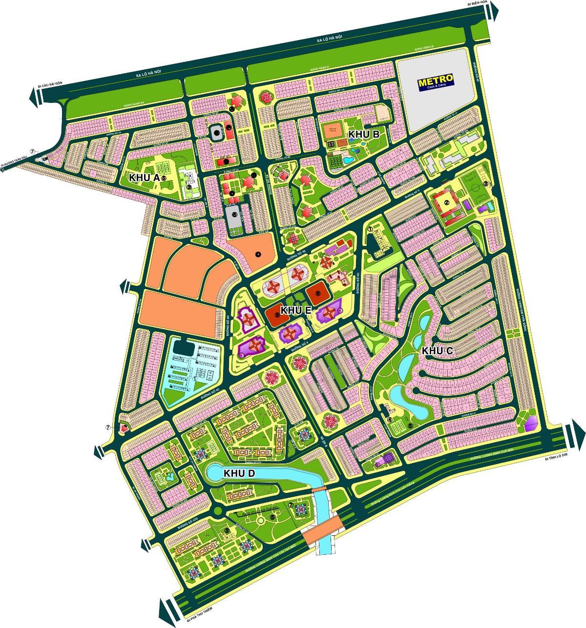 Bản đồ quy hoạch An Phú An Khánh