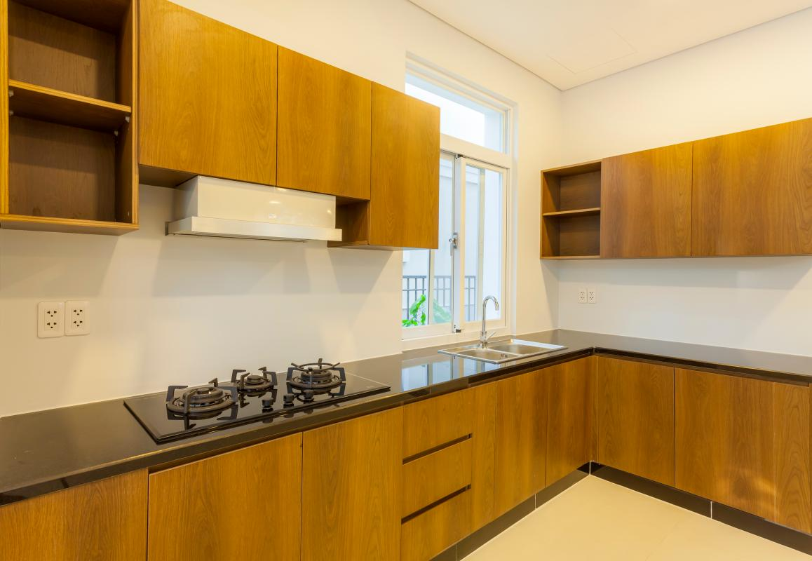 Nội thất bếp Villa 3 tầng Phú Mỹ 3A Tân Trào