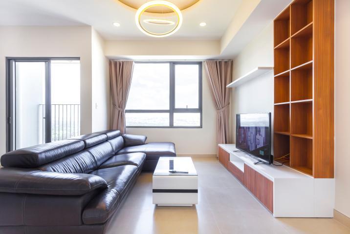 Căn góc Masteri Thảo Điền tầng cao T3A, 2 phòng ngủ nhìn sông thoáng mát