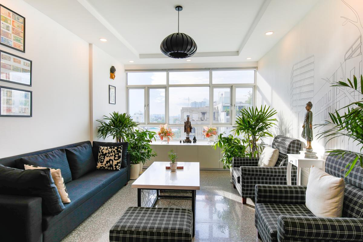 Căn góc Hoàng Anh Gold House với không gian nội thất đầy sáng tạo