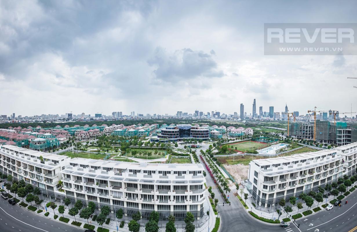 View Panorama nhìn từ căn hộ Căn hộ Sarimi Sala Đại Quang Minh hướng Tây và tầng cao tháp B1