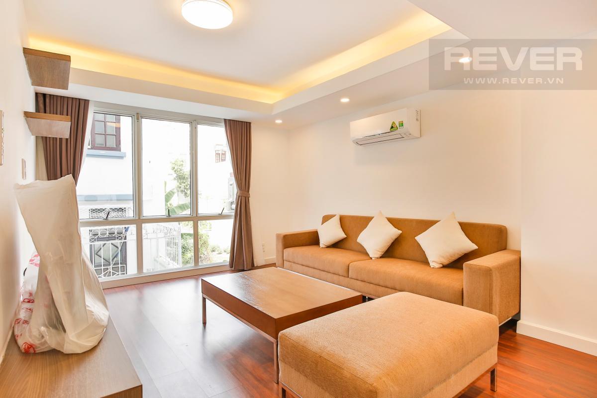 Phòng khách tầng 1 Nhà phố 3 tầng Phạm Thái Bường Quận 7