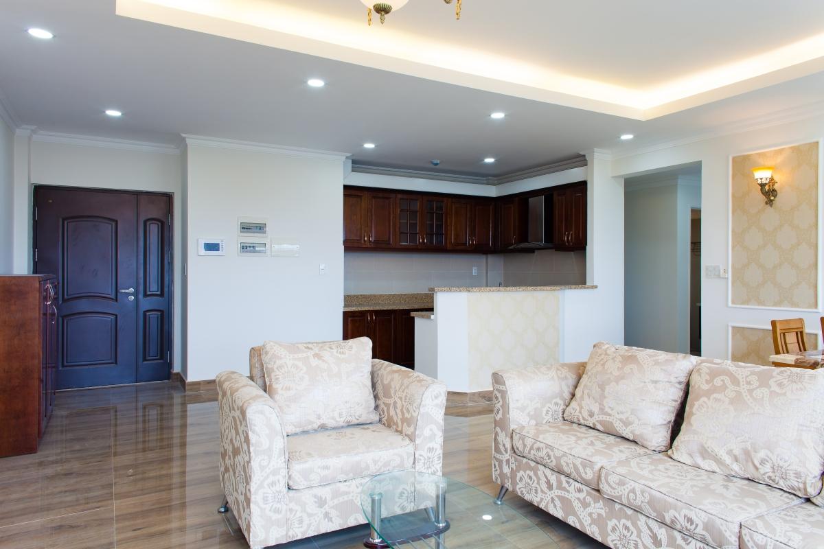 Sofa Phòng khách Căn hộ tháp C Happy Valley