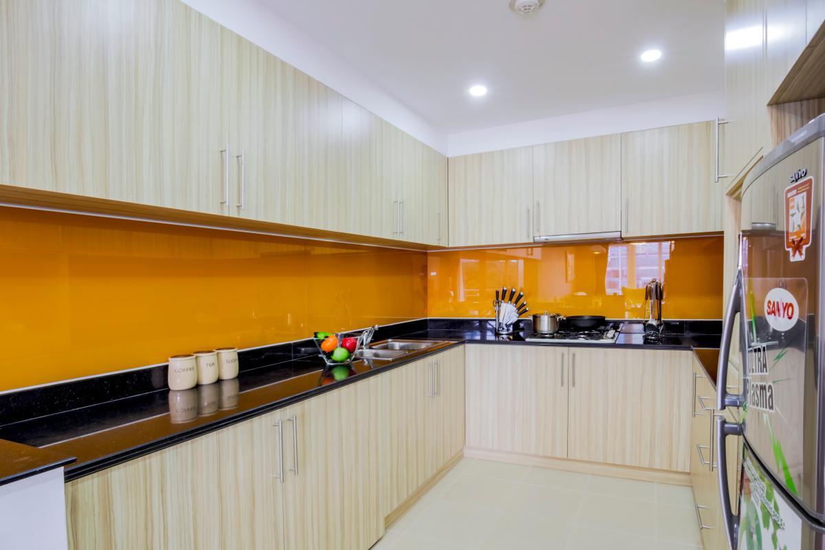 Bếp Căn hộ hướng Đông Bắc Võ Văn Tần