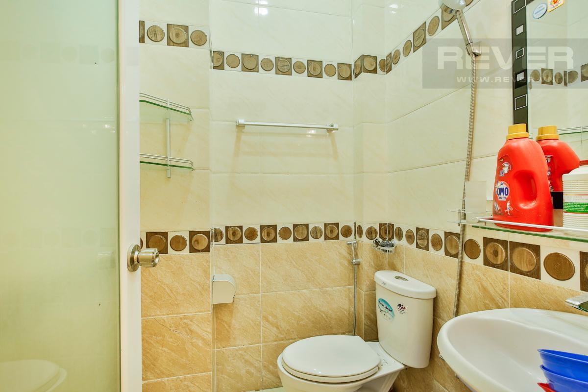 Phòng tắm 1 Nhà 4 tầng mặt tiền D1 Bình Thạnh