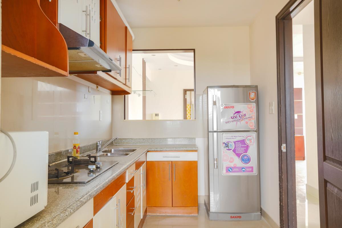 Phòng bếp rộng rãi Căn góc trung tầng tháp BC Cảnh Viên 2
