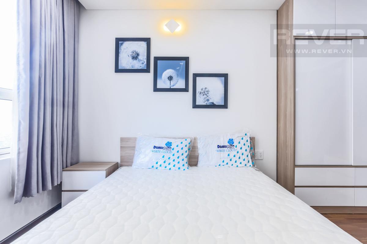 Phòng ngủ Căn góc hướng Tây Nam tầng cao tháp A1 Tropic Garden