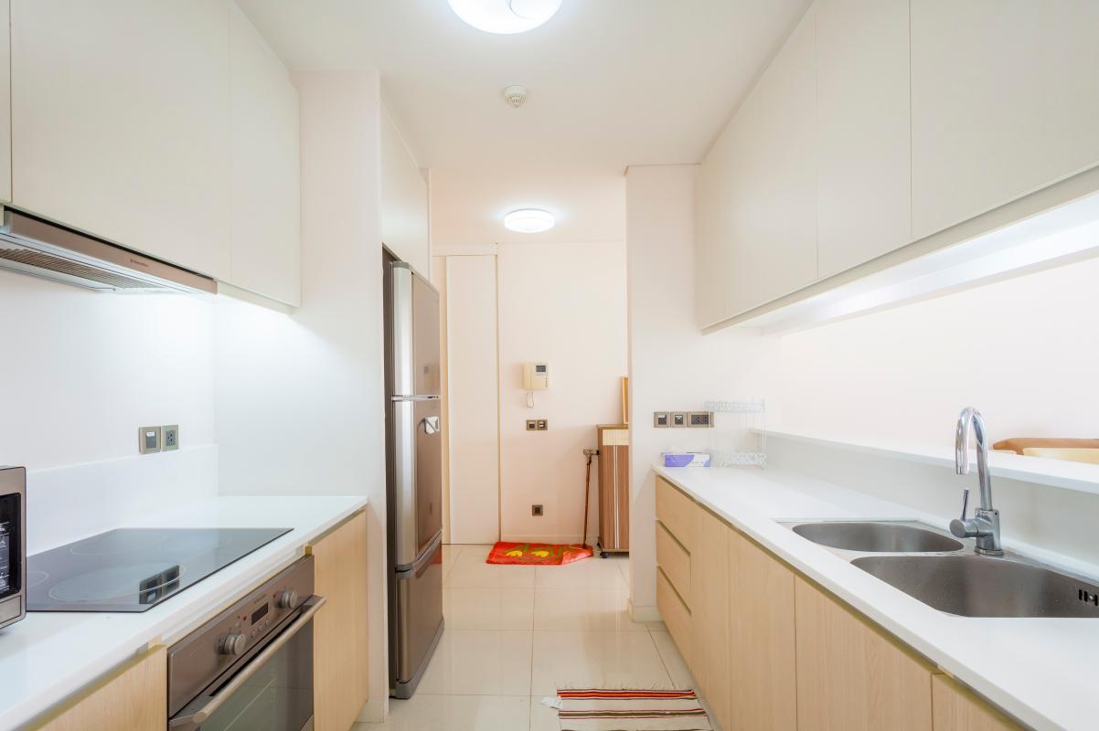 Phòng bếp gọn gàng, ngăn nắp Cho thuê căn hộ tầng cao 3A The Estella An Phú