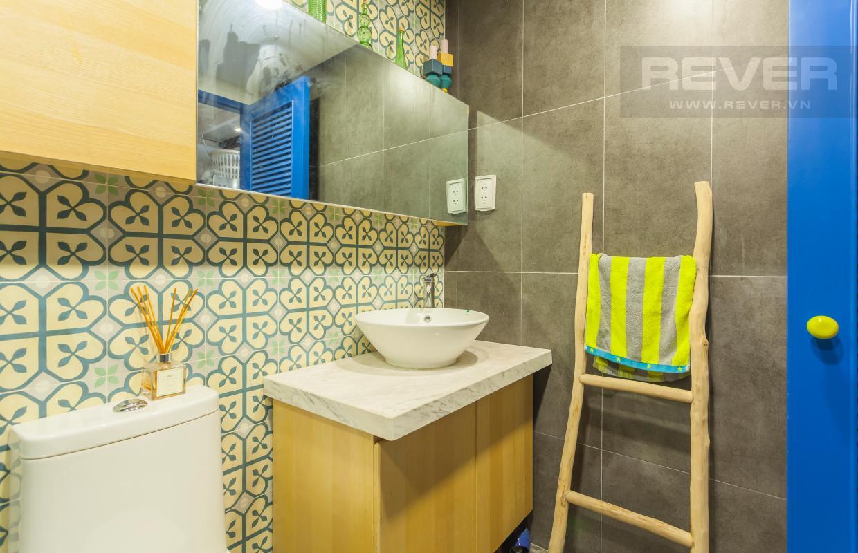 Phòng tắm Căn hộ officetel LE Lexington nội thất độc đáo, có gác lửng