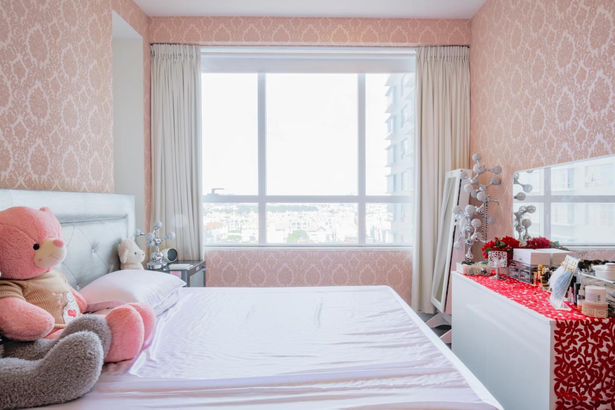 Phòng ngủ chính Căn hộ tầng cao tháp V5 Sunrise City