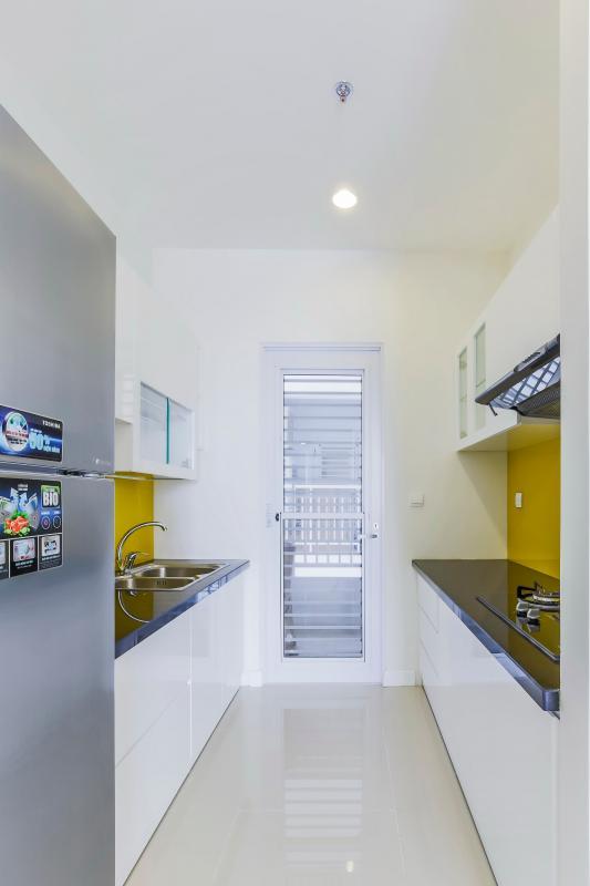 Phòng bếp Căn góc tầng cao P1 Prince Residence