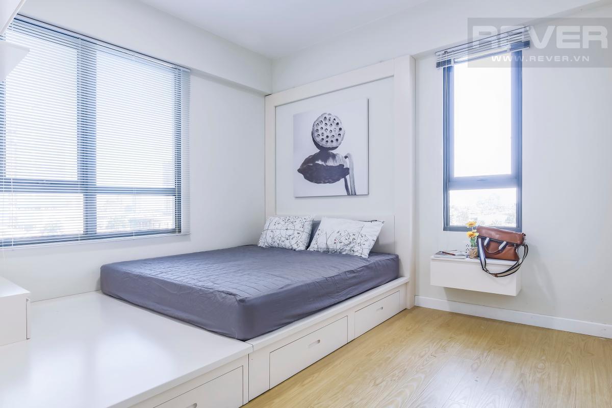 Phòng ngủ ở vị trí góc Căn góc trung tầng T4B Masteri Thảo Điền