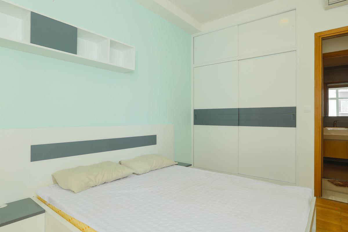 Nội thất phòng ngủ 3 Căn góc Sunrise City tầng cao tháp V4 hướng Tây Nam, 3 phòng ngủ