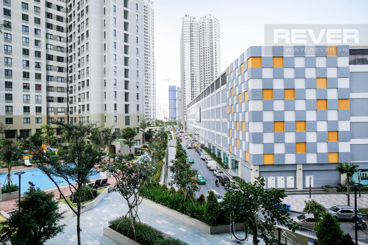 View toàn cảnh nhìn từ căn hộ Căn hộ 2 phòng ngủ hướng Đông Nam T1A Masteri Thảo Điền