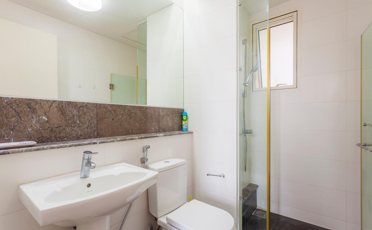 Phòng tắm nhỏ Cho thuê căn hộ tầng cao 3A The Estella An Phú