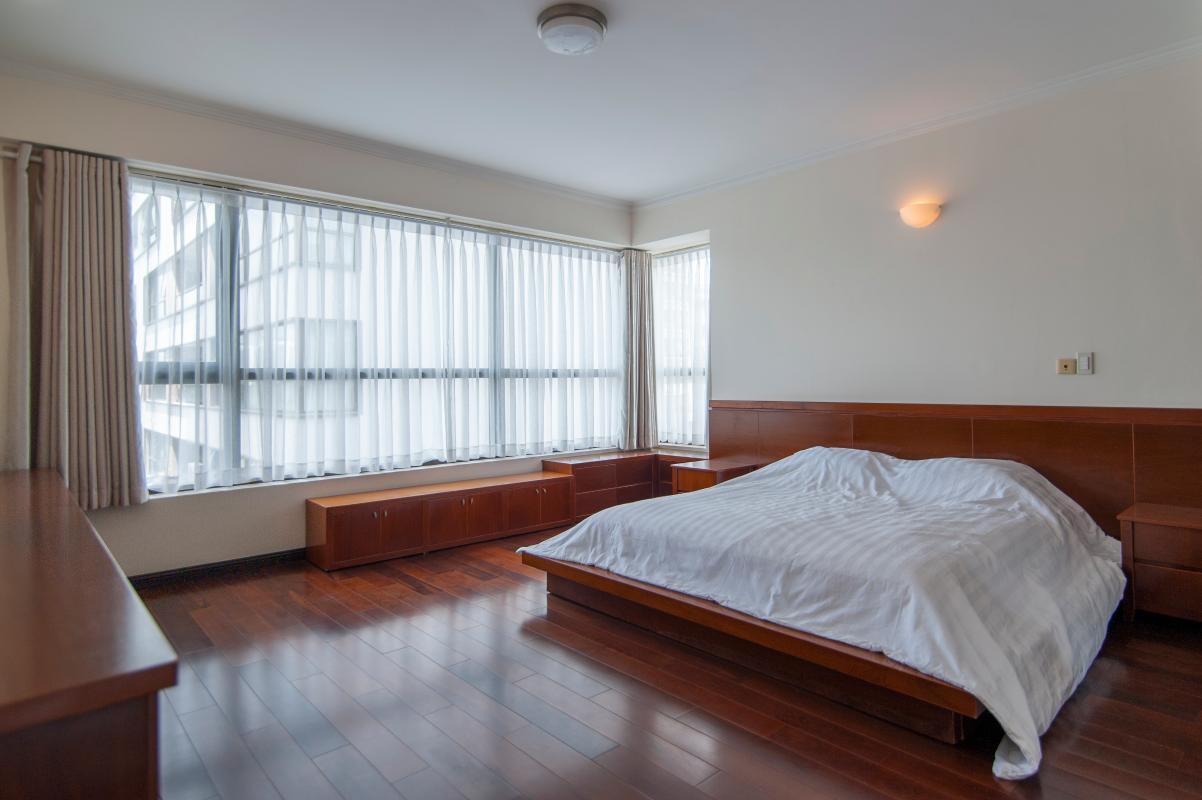 Phòng ngủ ở vị trí góc Căn góc tầng cao tháp B The Panorama