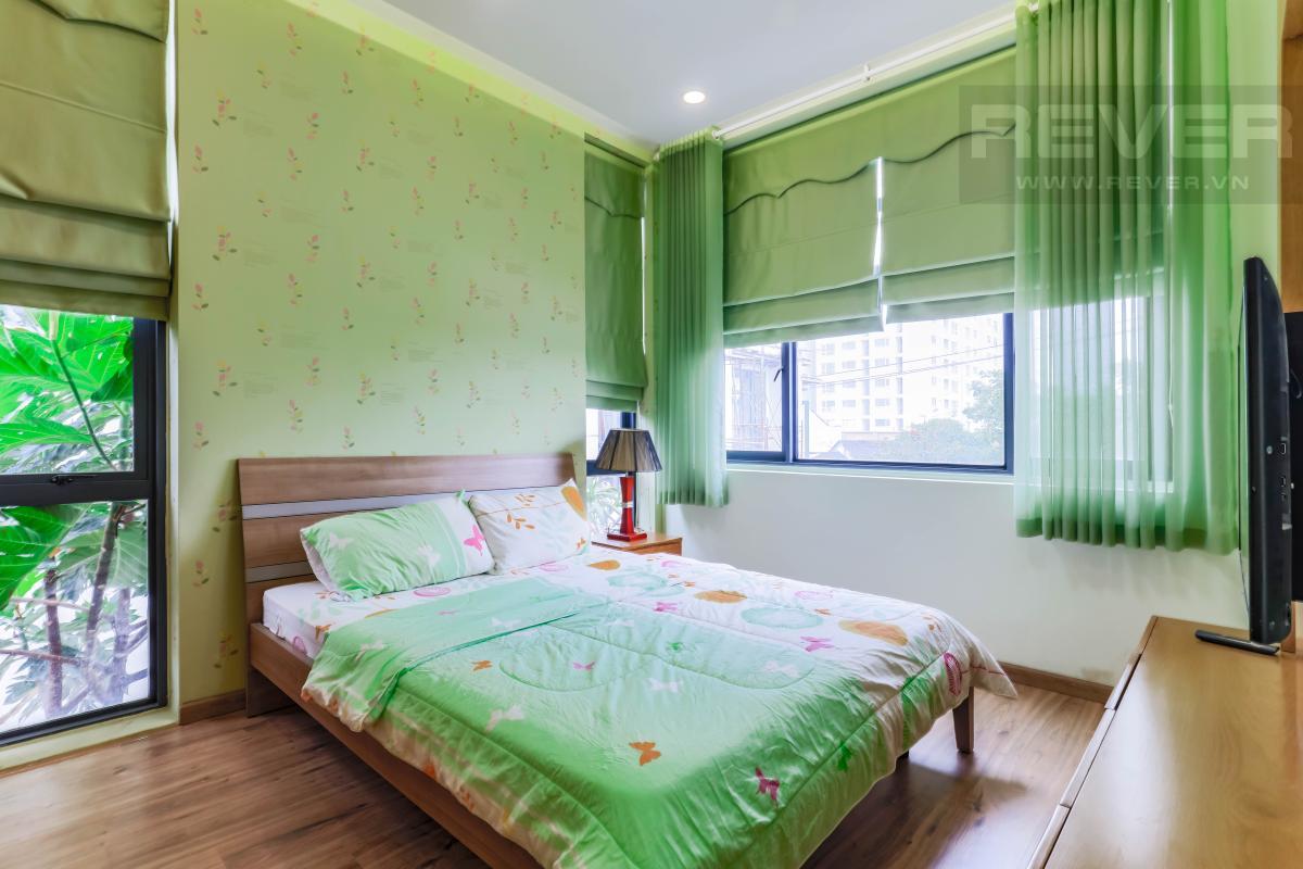 Phòng ngủ 1 Villa Lucasta song lập có sân vườn, nội thất cao cấp