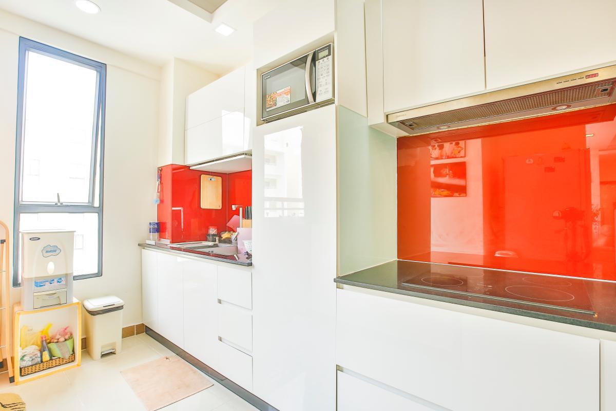 Phòng bếp sang trọng Căn hộ tầng cao A2 Era Town