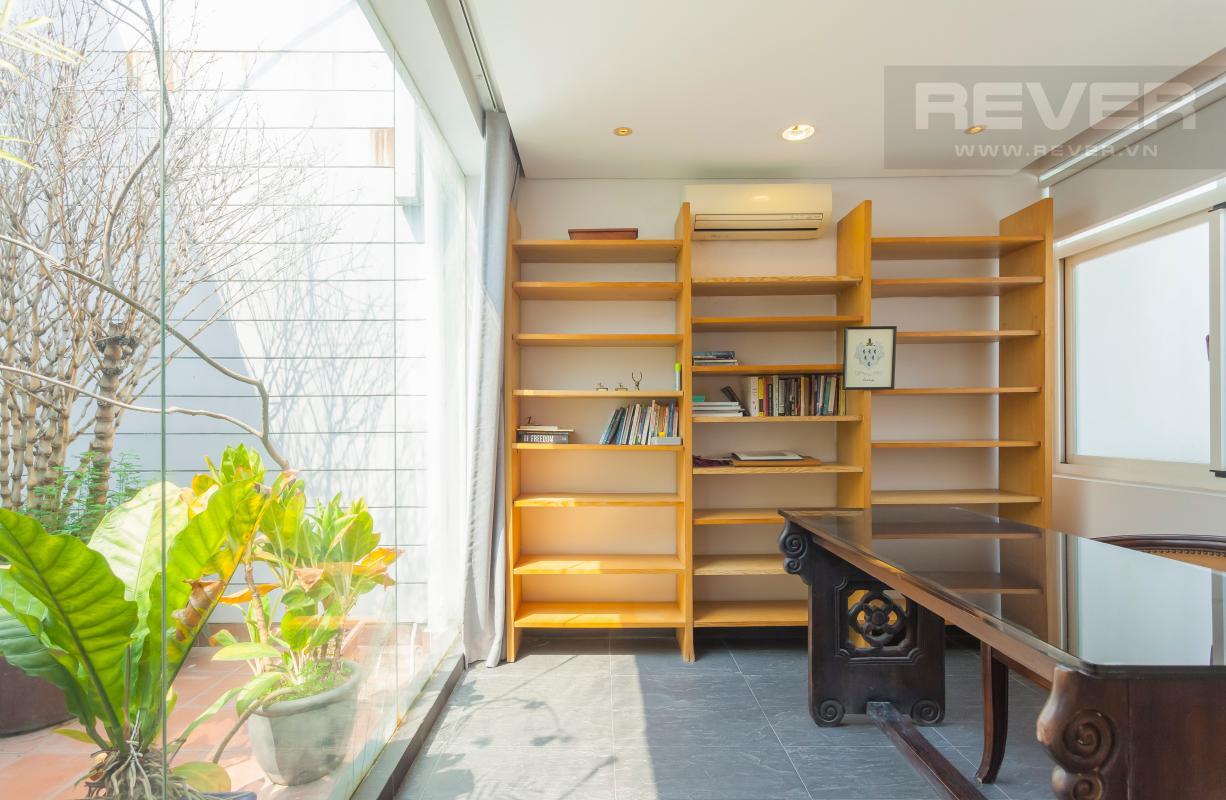 Kệ sách Căn hộ duplex Cảnh Viên 1 tầng thấp AB1 hướng Tây, 3 phòng ngủ
