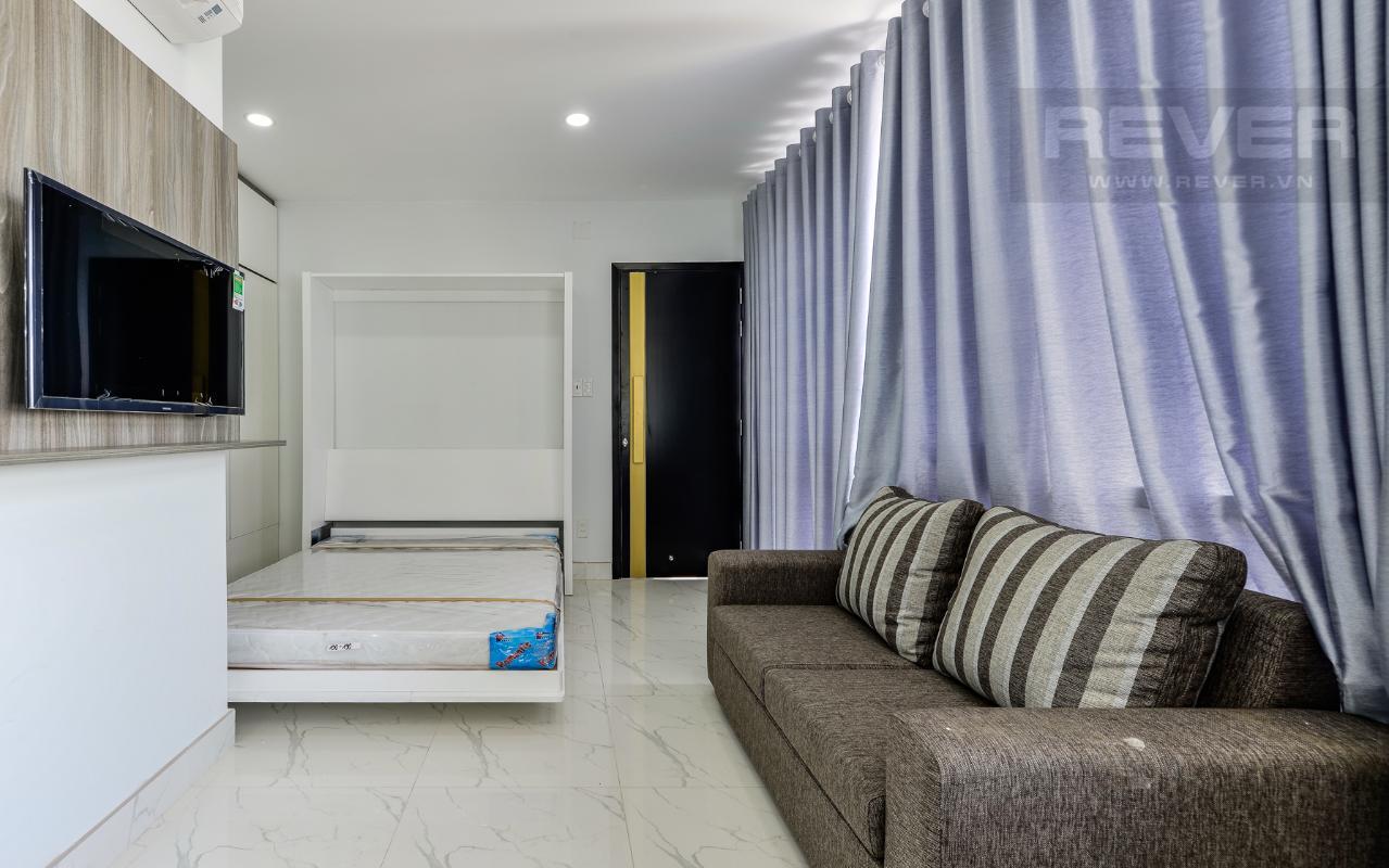 Phòng 21m2 được bài trí gọn gàng M & T Building cho thuê phòng đủ nội thất, nhiều diện tích sử dụng