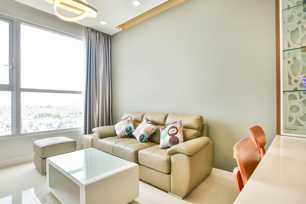Sofa phòng khách Căn hộ tầng cao P1 Prince Residence
