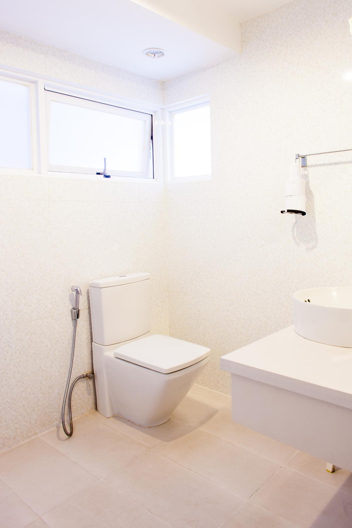Phòng tắm chính Villa 2 tầng đơn lập Mỹ Phú 1A