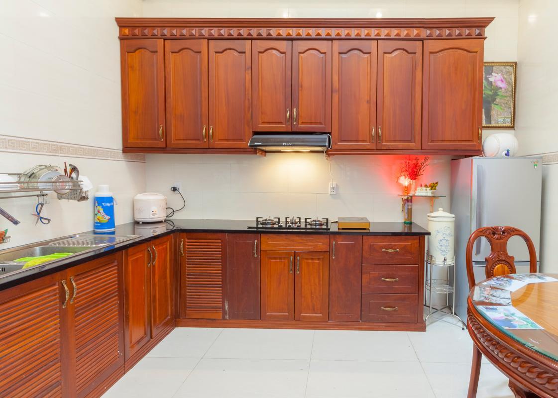 Phòng bếp Villa hướng Tây Bắc Đường 12 Thảo Điền
