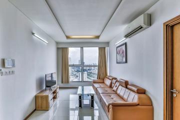 Căn hộ tầng cao tháp A Thảo Điền Pearl