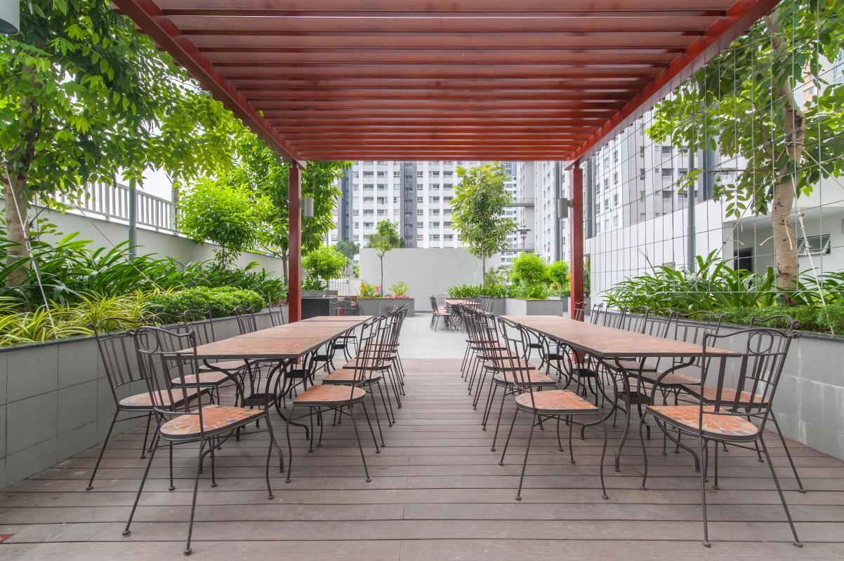 Công viên thư giãn nội khu Căn hộ tầng cao LC Lexington An Phú