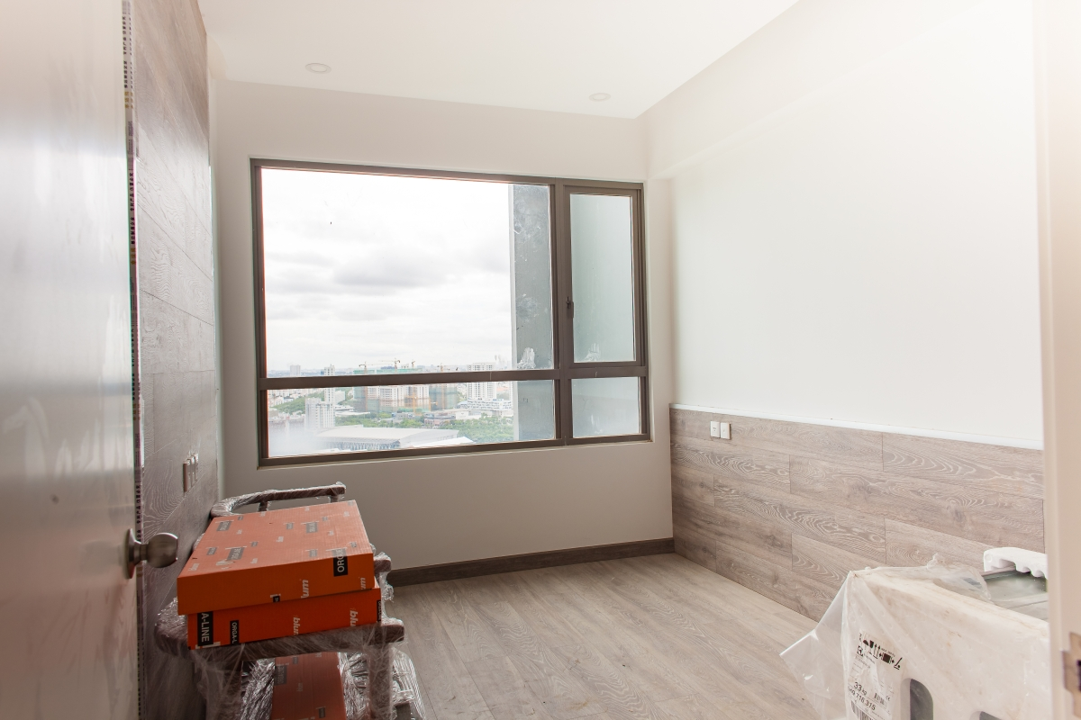Phòng ngủ hai Căn góc tầng cao T5 Riviera Point