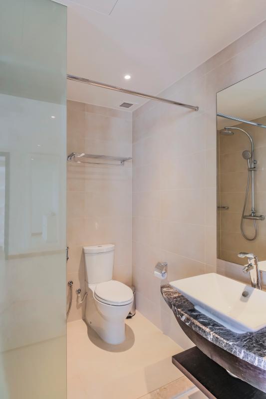 Phòng tắm phụ Căn duplex trung tầng Tower 3 Brilliant Đảo Kim Cương