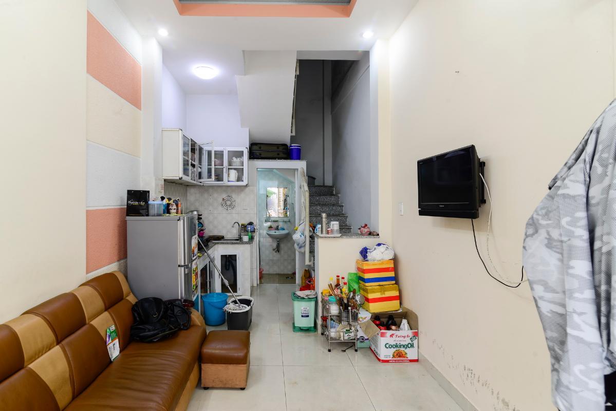 Phòng khách Nhà 2 tầng hẻm Phan Xích Long Phú Nhuận