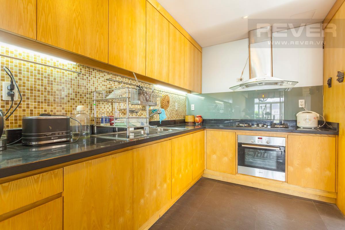 Phòng bếp Căn hộ duplex Cảnh Viên 1 tầng thấp AB1 hướng Tây, 3 phòng ngủ