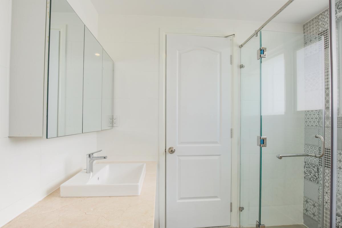 Phòng tắm Căn góc tháp N Happy Valley