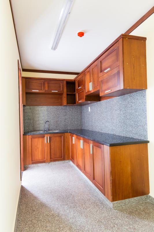 Phòng bếp Căn hộ tầng cao A Hoàng Anh Thanh Bình
