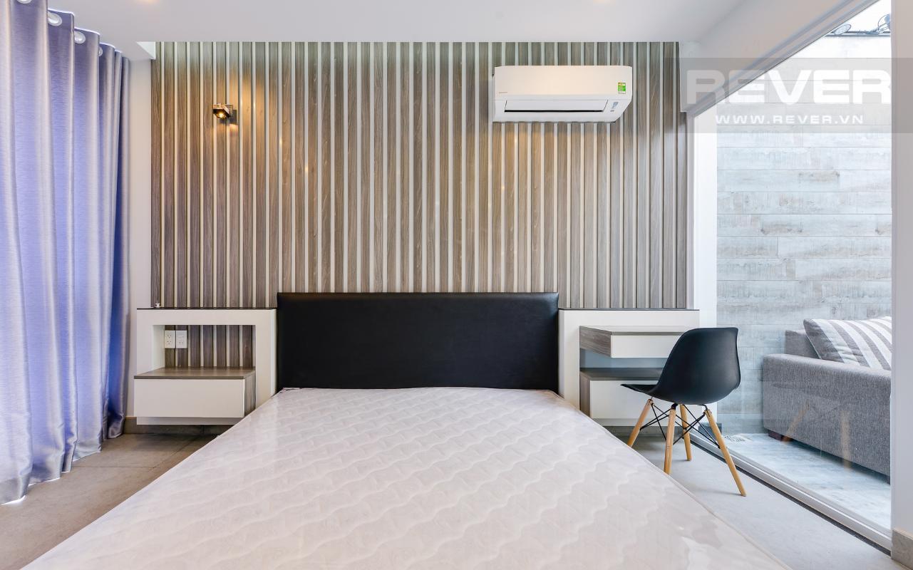 Phòng ngủ thoáng đãng M & T Building cho thuê phòng đủ nội thất, nhiều diện tích sử dụng