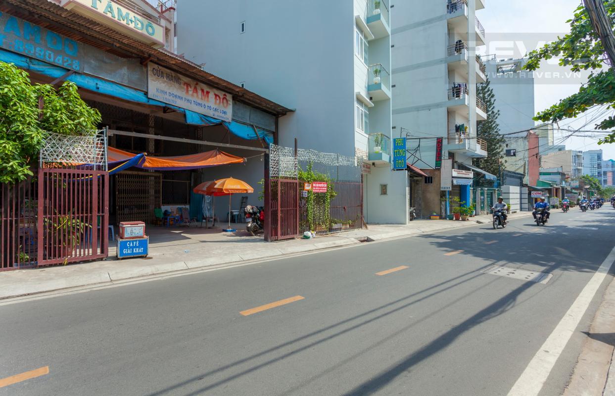 Hẻm lớn đã trải nhựa đường Nhà 3 tầng hẻm lớn Quốc lộ 13 Bình Thạnh
