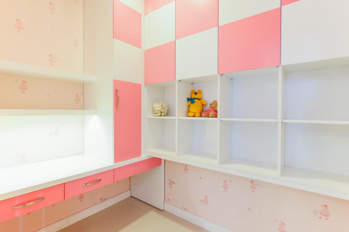 Phòng ngủ cho con trẻ Căn hộ tầng cao V4 Sunrise City