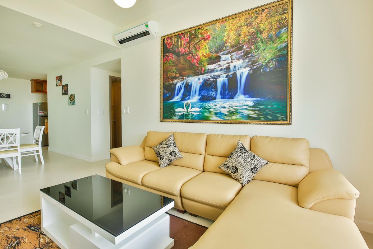 Sofa giường hiện đại Căn hộ tầng cao LB Lexington Residence