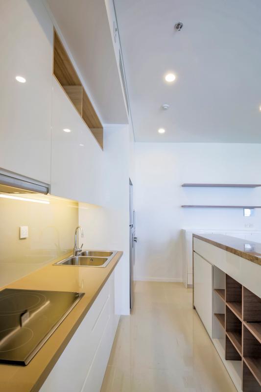 Hệ thống tủ kệ bếp Căn hộ B1 Sarimi Sala Đại Quang Minh