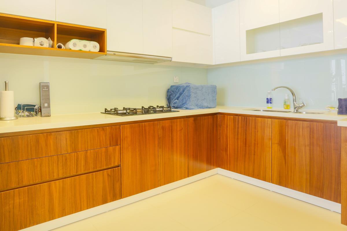 Phòng bếp Căn hộ tầng cao tháp B Thảo Điền Pearl