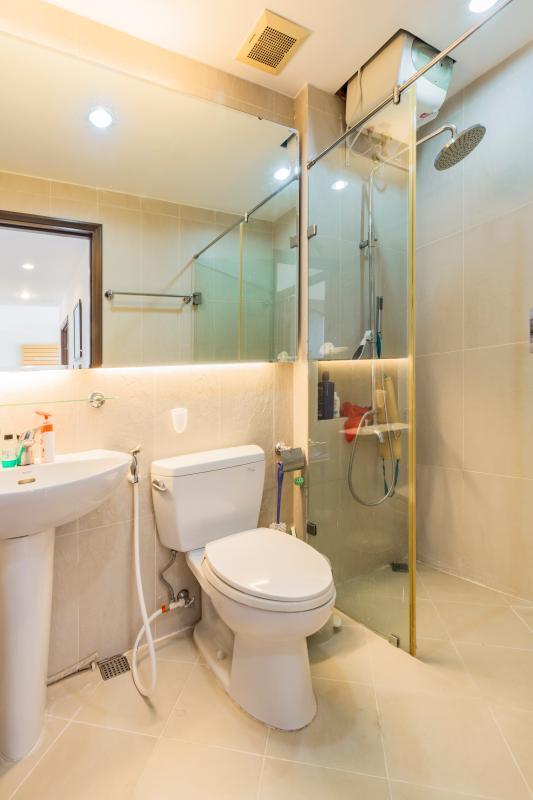 Phòng tắm Căn hô tầng cao tháp C The Panorama