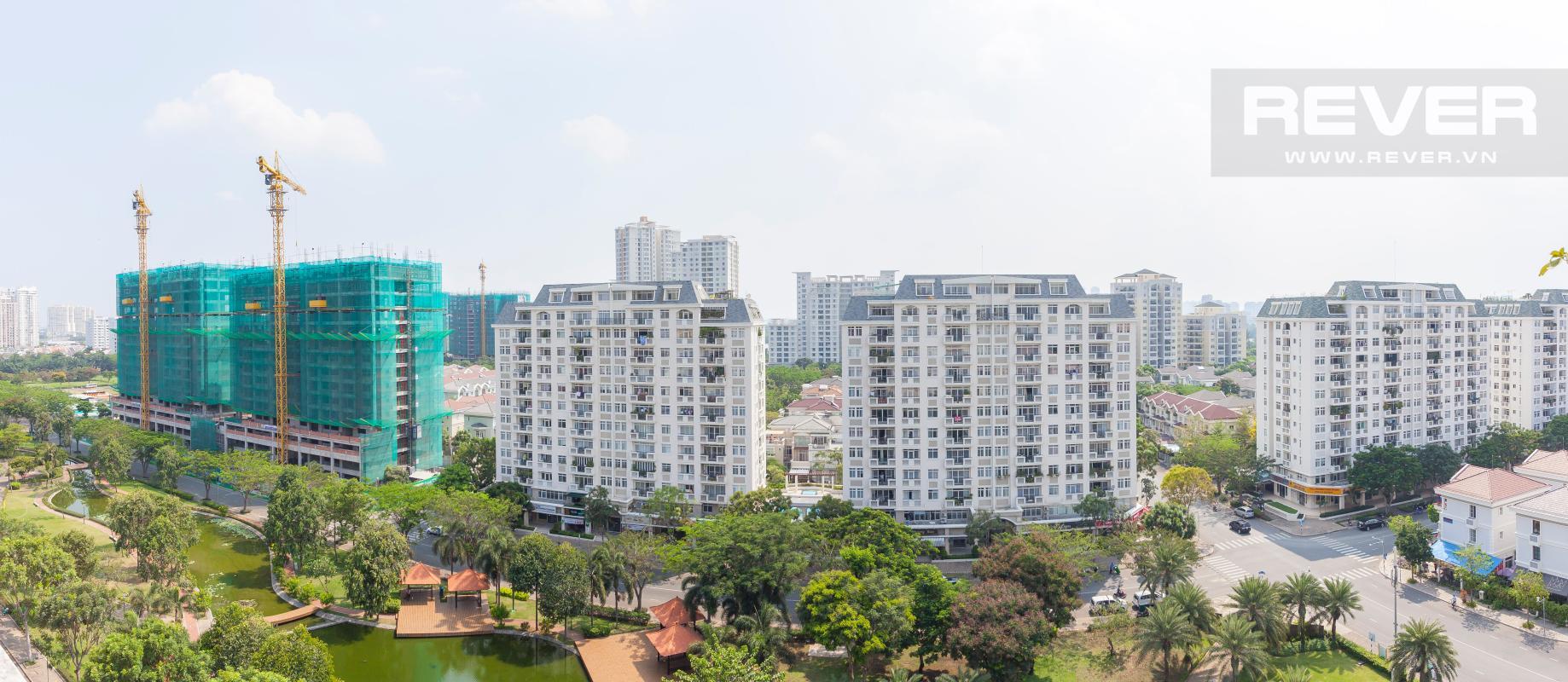 Cảnh quan nhìn từ căn hộ Căn hộ duplex Cảnh Viên 1 tầng thấp AB1 hướng Tây, 3 phòng ngủ