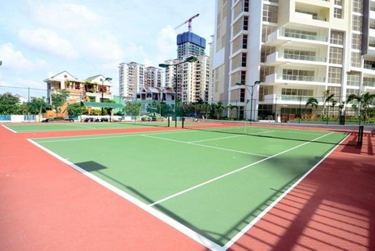 Sân tennis Cho thuê căn hộ tầng cao 3A The Estella An Phú