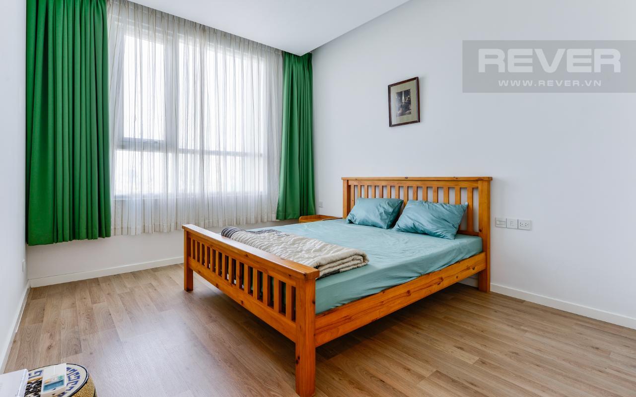 Không gian phòng ngủ 2 Căn hộ A1 Sarimi hai phòng ngủ, nhìn về trung tâm thành phố