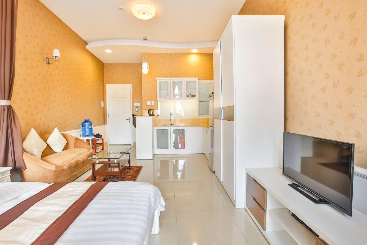 Căn hộ dịch vụ 55m2 Spring Apartment
