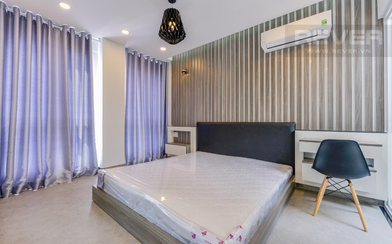 Phòng ngủ rộng rãi thoáng đãng M & T Building cho thuê phòng đủ nội thất, nhiều diện tích sử dụng