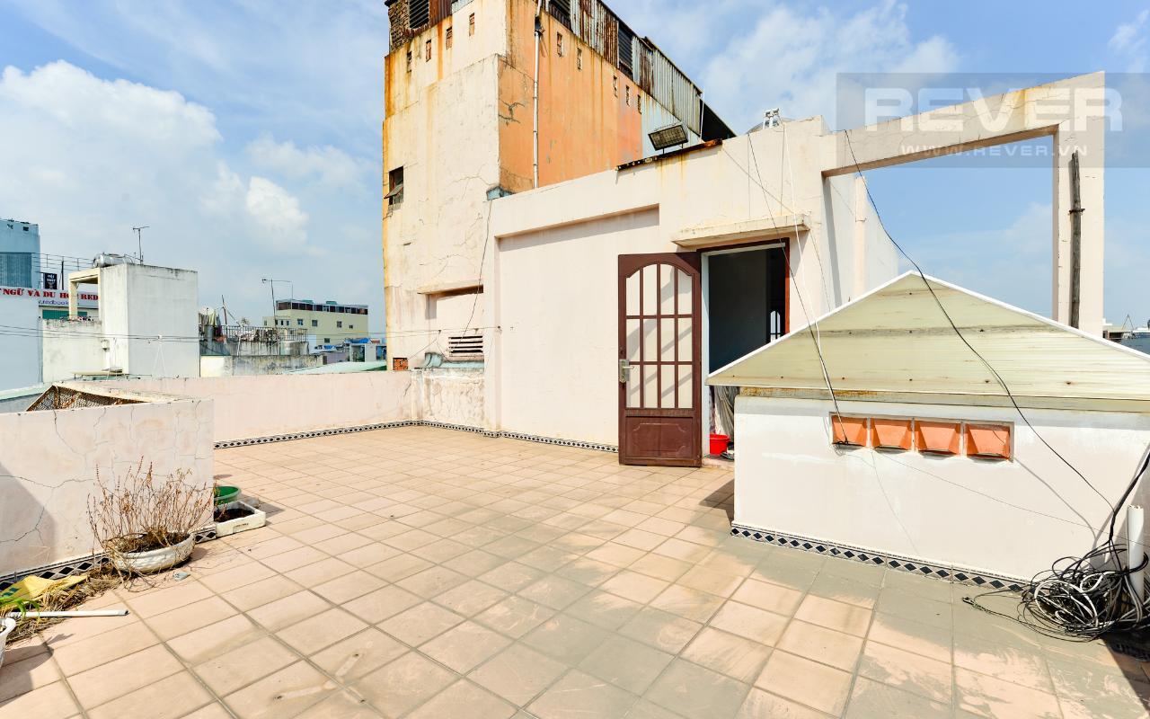 Sân Thượng Nhà 3 tầng mặt tiền Bạch Đằng Bình Thạnh