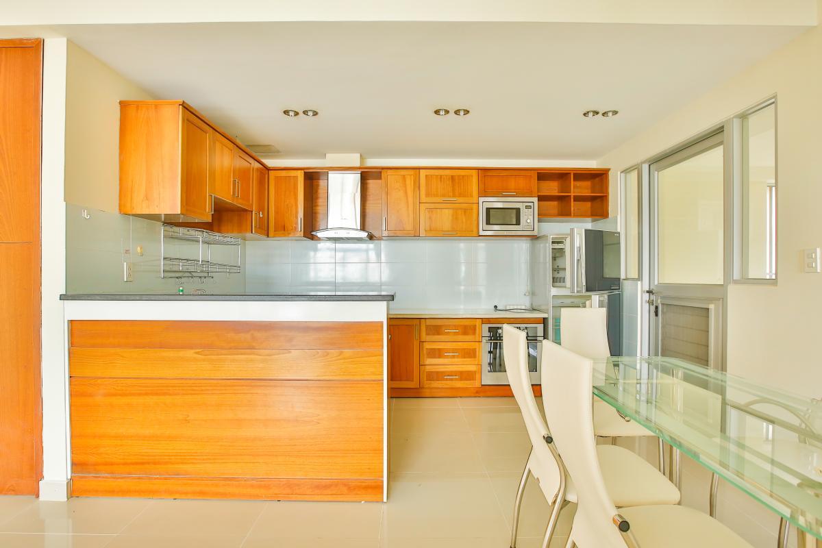 Phòng bếp đầy đủ tiện nghi Căn hộ 3 phòng ngủ tháp 3A Garden Court 1