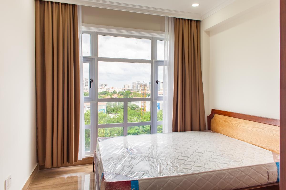 Phòng ngủ thoáng đãng Căn hộ tháp C Happy Valley
